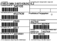 Paletové A Produktové Etikety Dle Standardu VDA